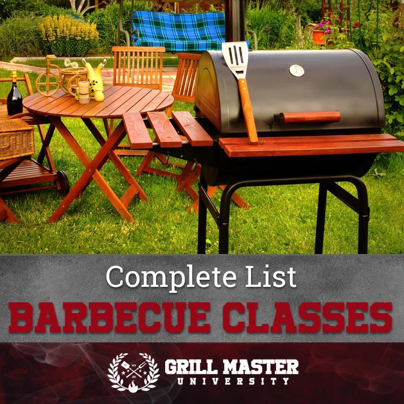 Barbecue classes