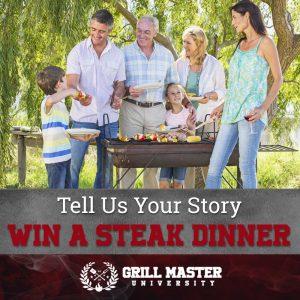 Win a steak