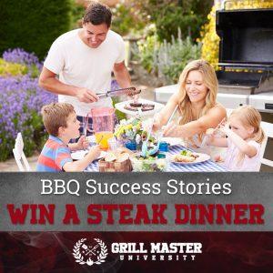 Win a steak dinner