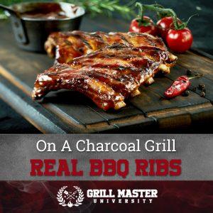 Real BBQ ribs