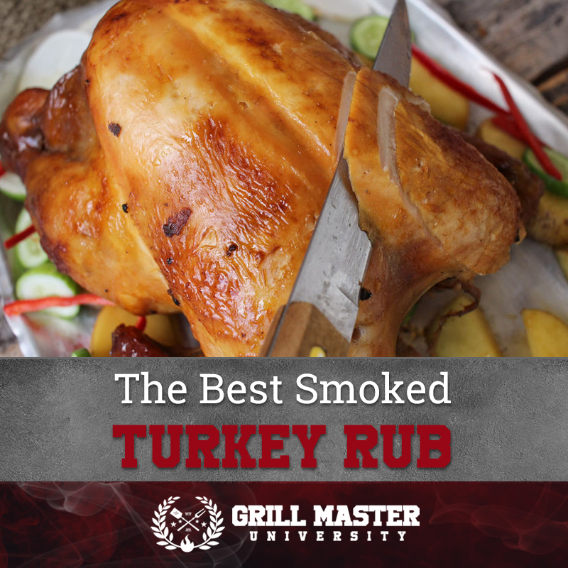 The best smoked turkey rub