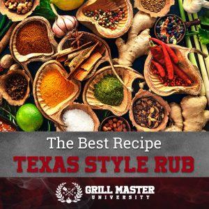 Texas style brisket dry rub