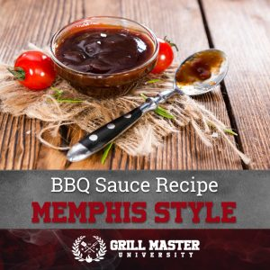 Barbecue sauce Memphis style