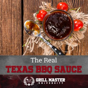 The Real Texas BBQ Sauce