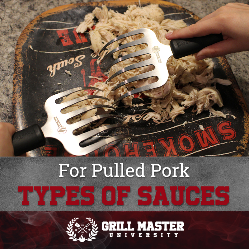 Types of sauces for pulled pork