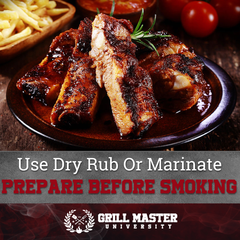 Dry rub for ribs