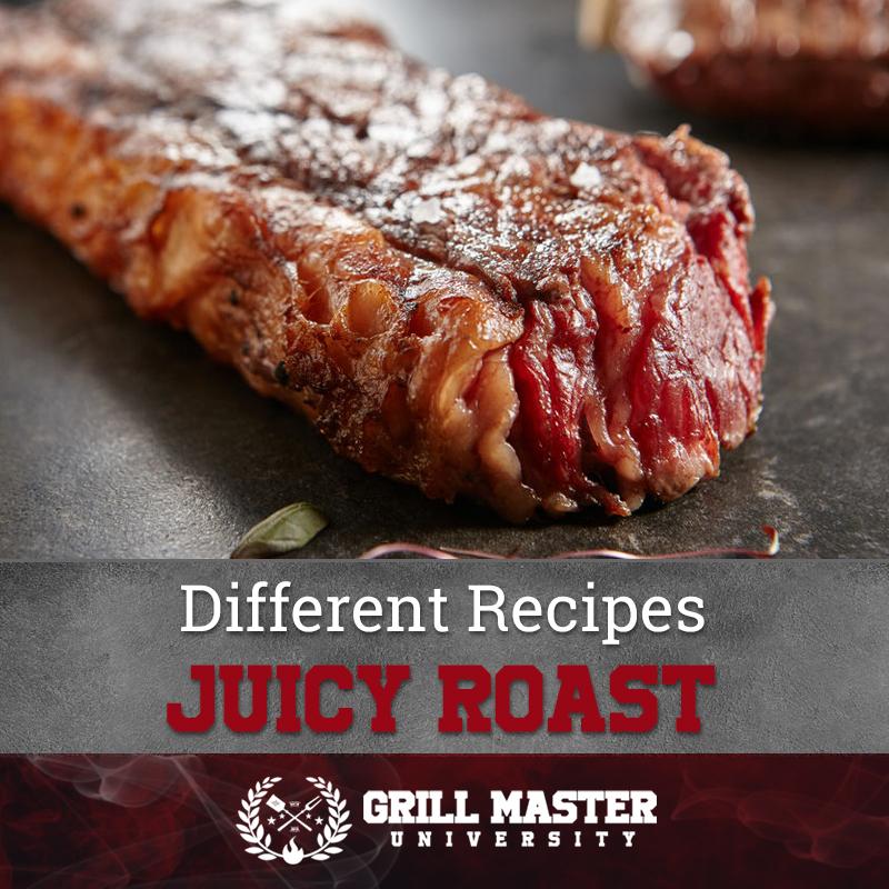 Juicy tri tip roast