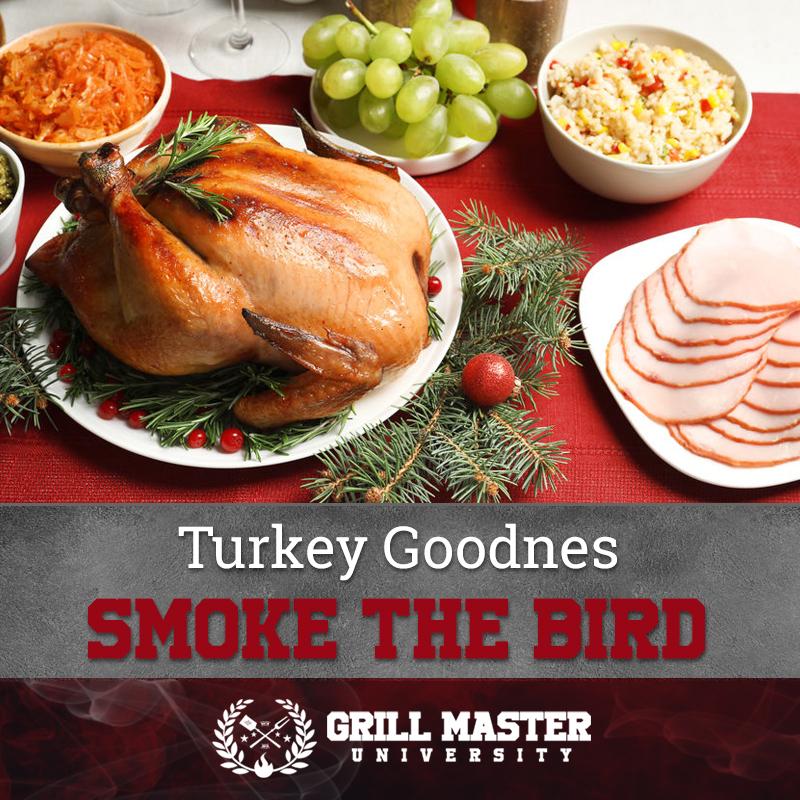 Smoke the turkey