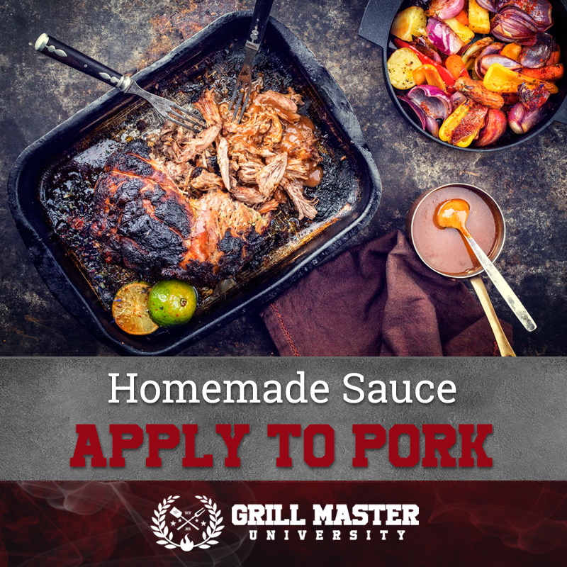 Homemade sauce for pork