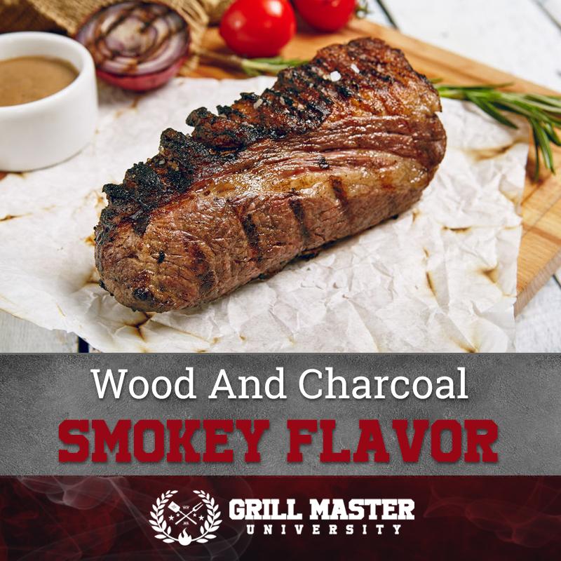 Smokey flavor