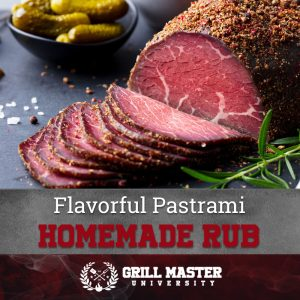 Flavorful pastrami homemade rub