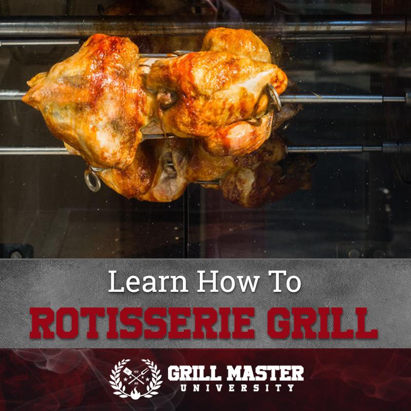 Rotisserie grilling