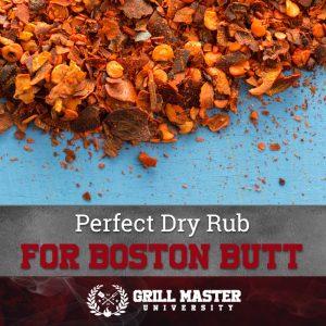 Perfect Dry Rub For Boston Butt
