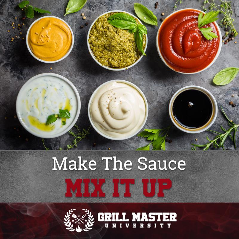 Make the bbq sauce