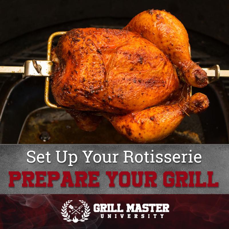 Prepare the grill