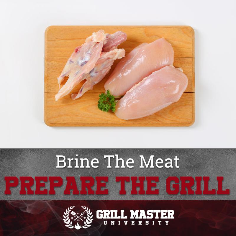 Brine the chicken