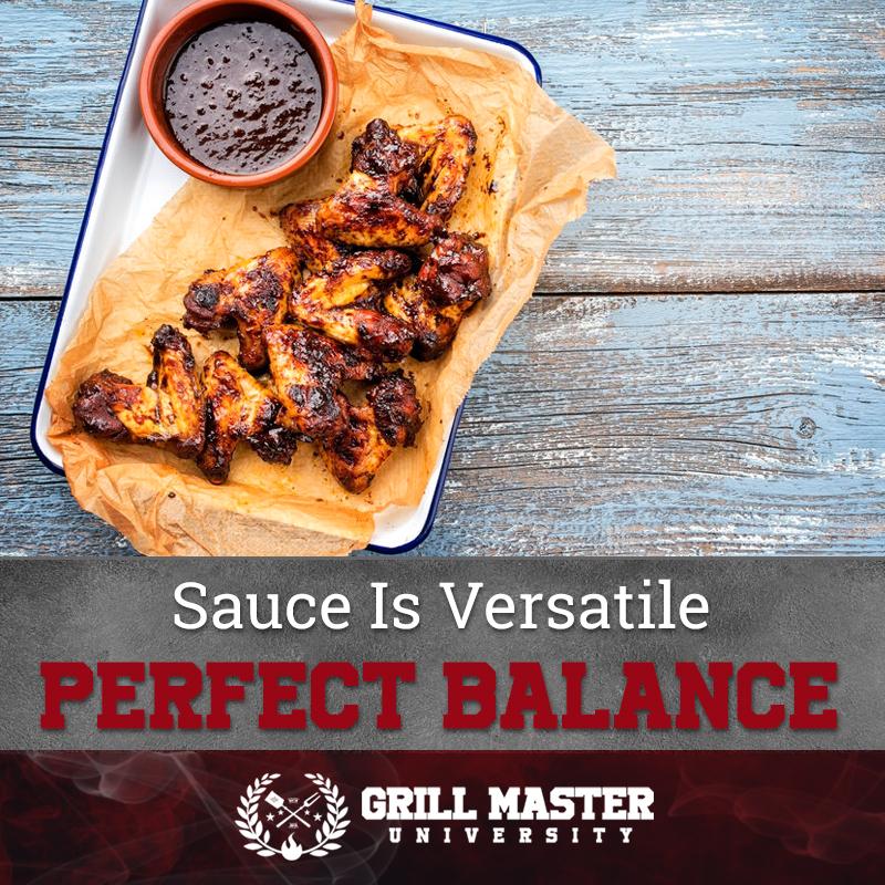 Sauce is versatile