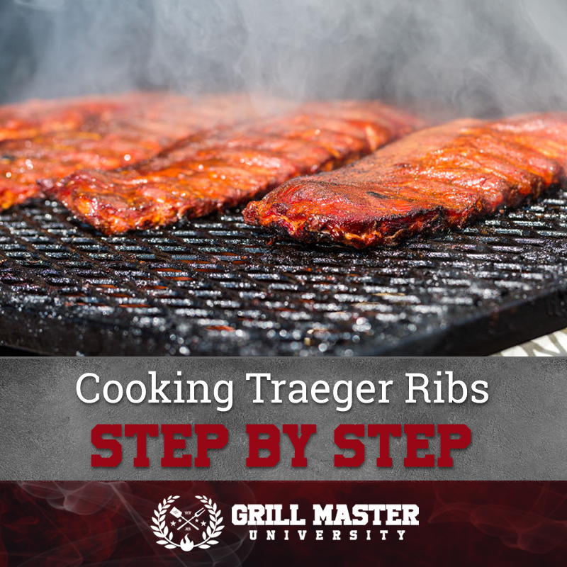 Step by step cooking Traeger ribs