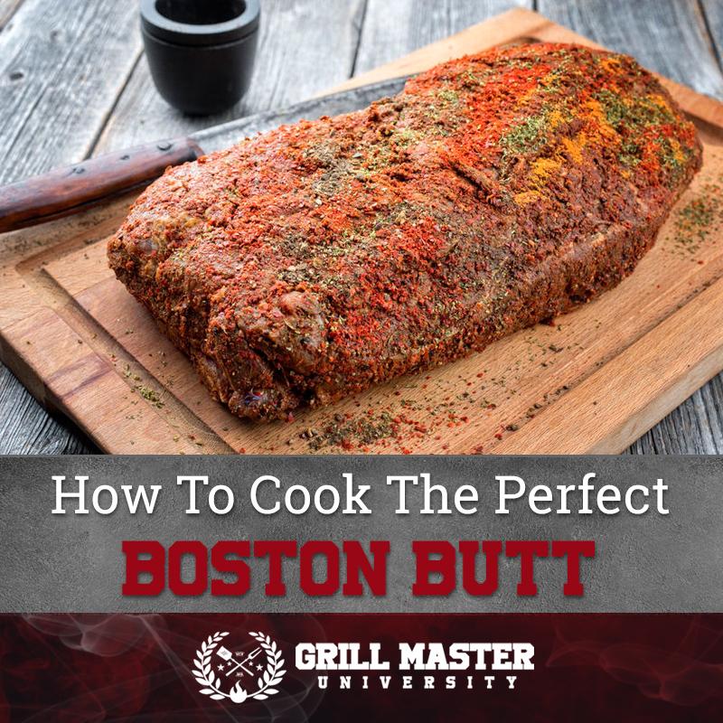 Perfect Boston butt