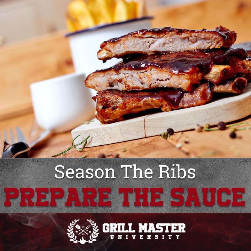 Season the ribs