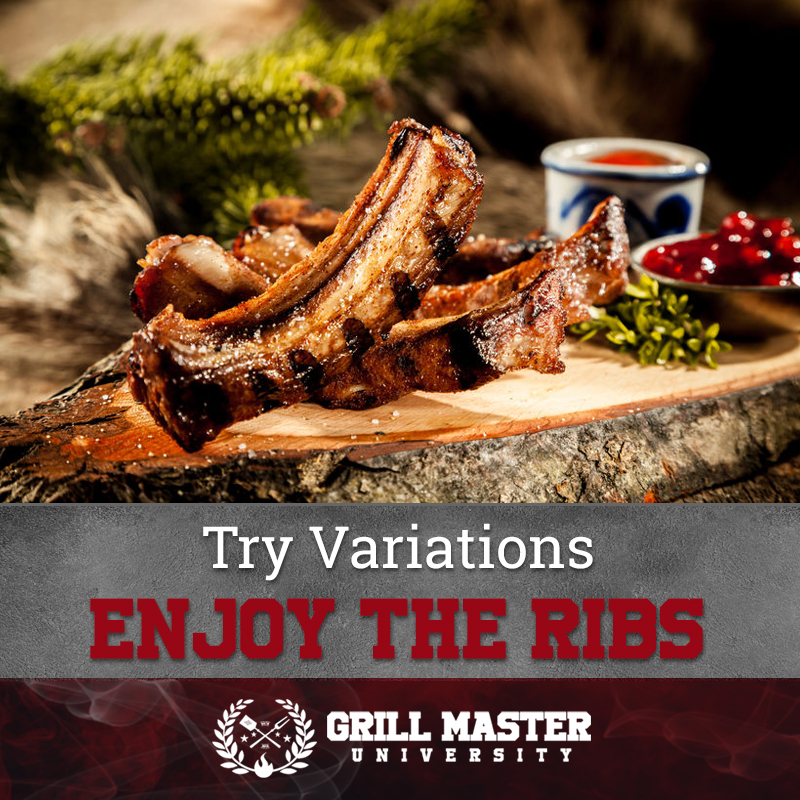 Enjoy your smoked ribs