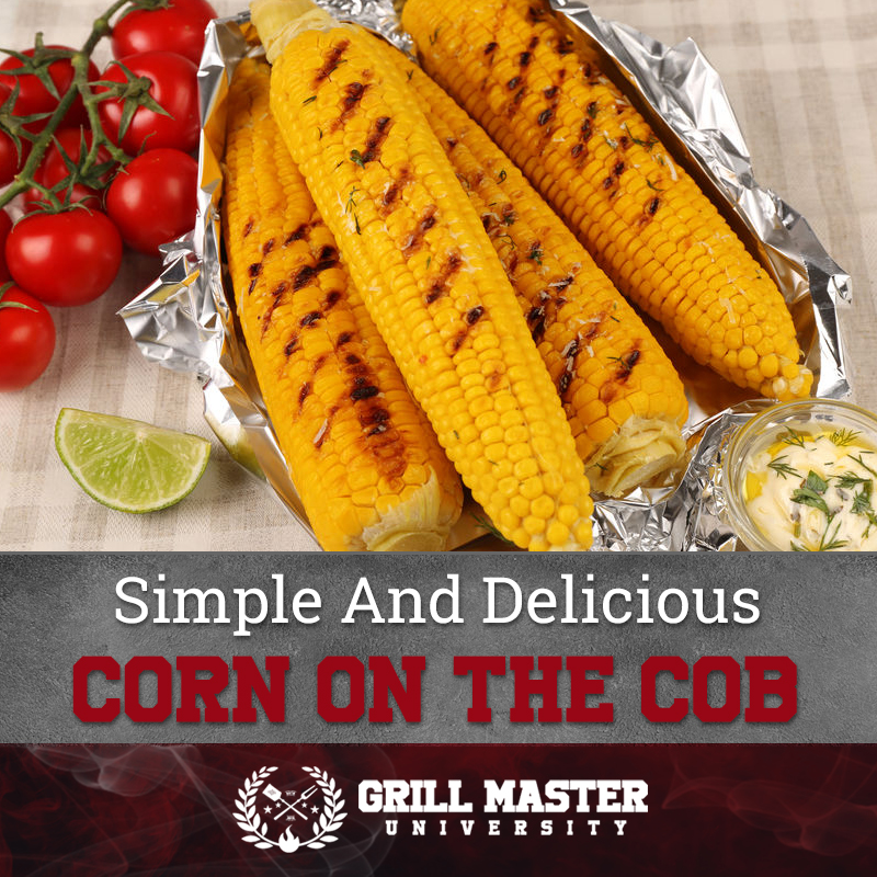 delicious grilled corn on the co