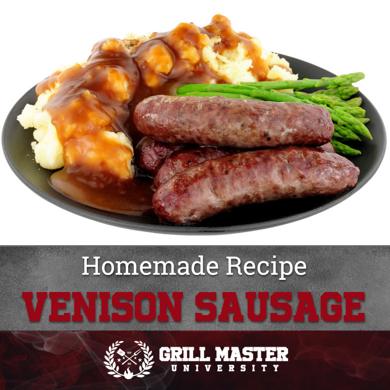 Homemade Recipe Venison Sausage