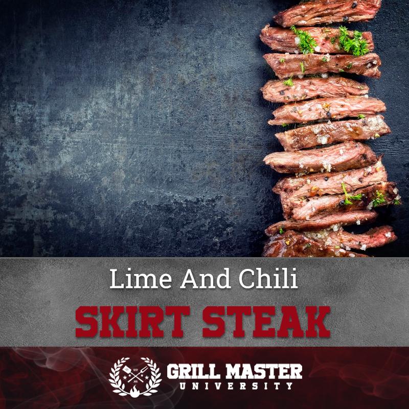 Lime And Chili Skirt Steak Recipe