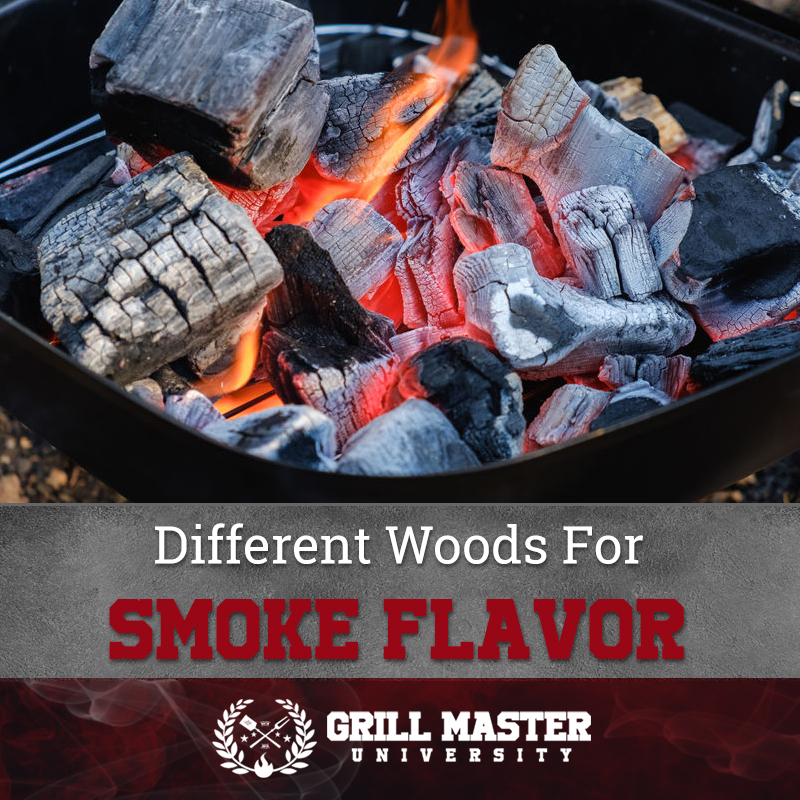 Different Woods For Smoke Flavor