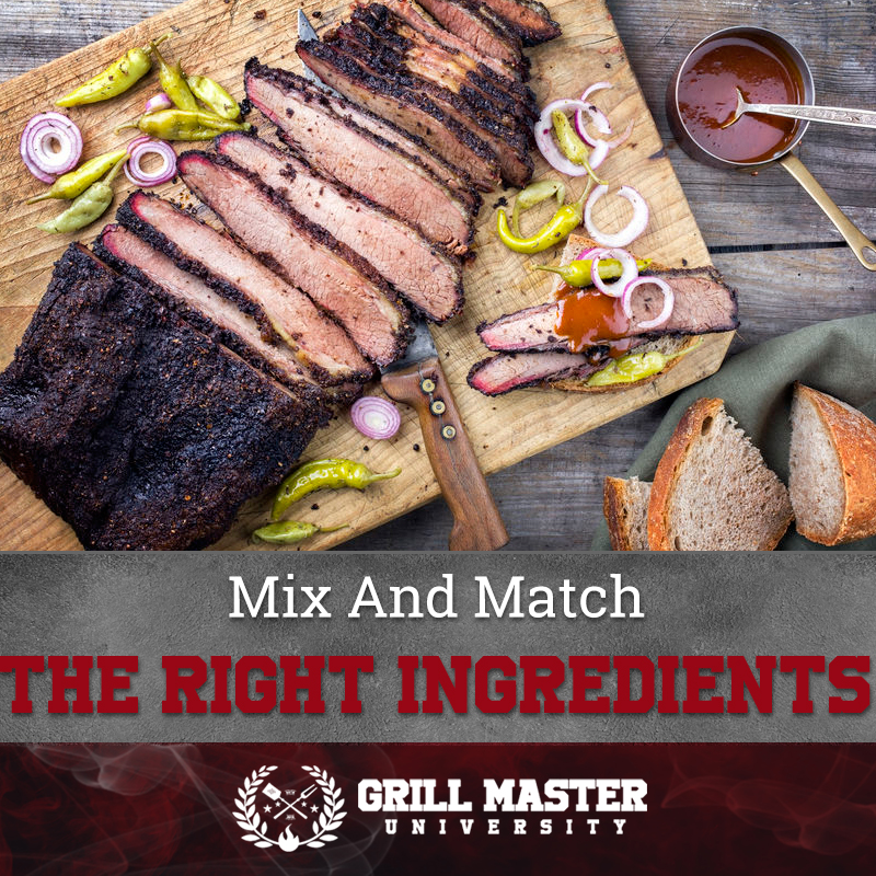 Mix And Match The Right Ingredients