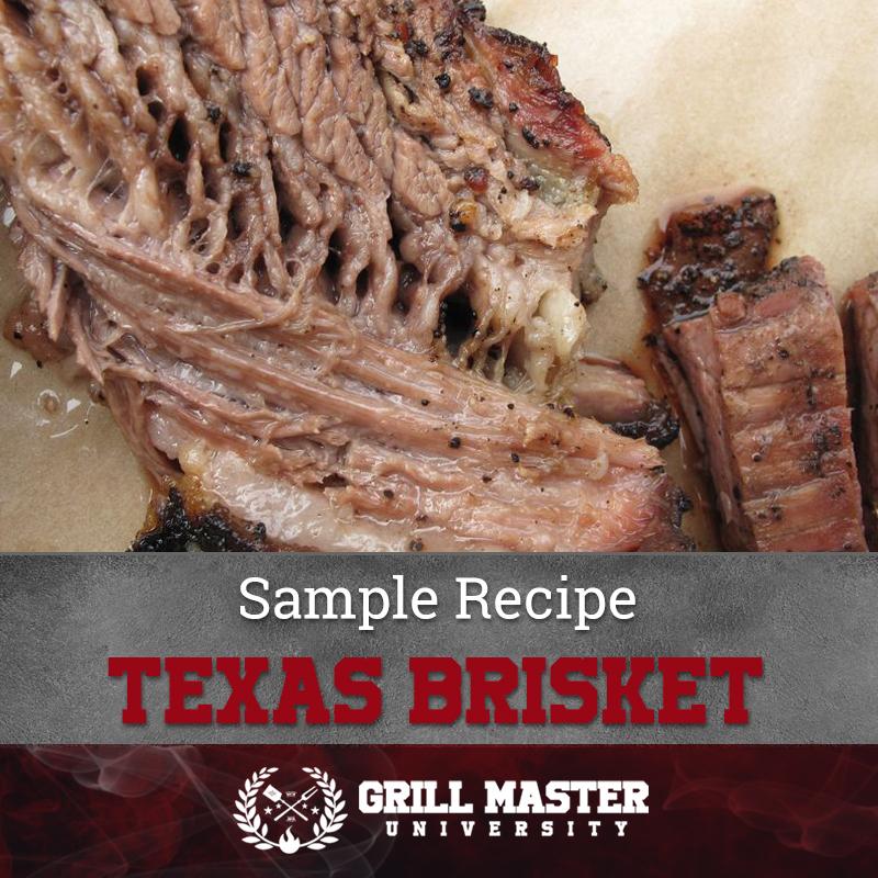 Sample Recipe Texas Brisket