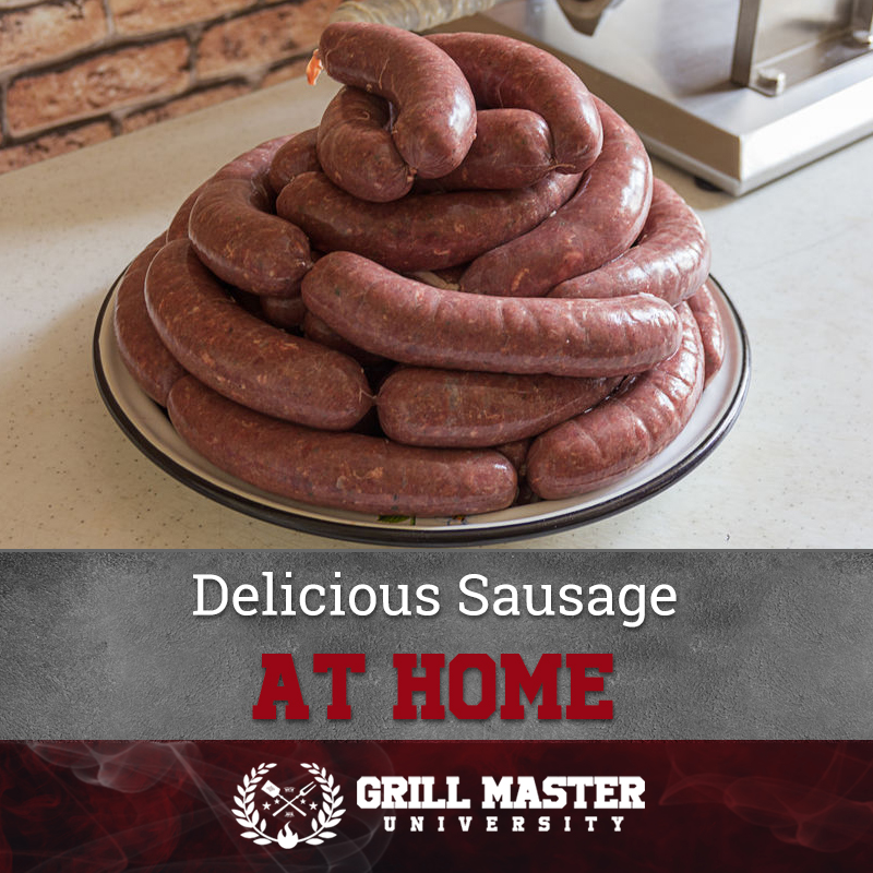 Delicious Sausage At Home