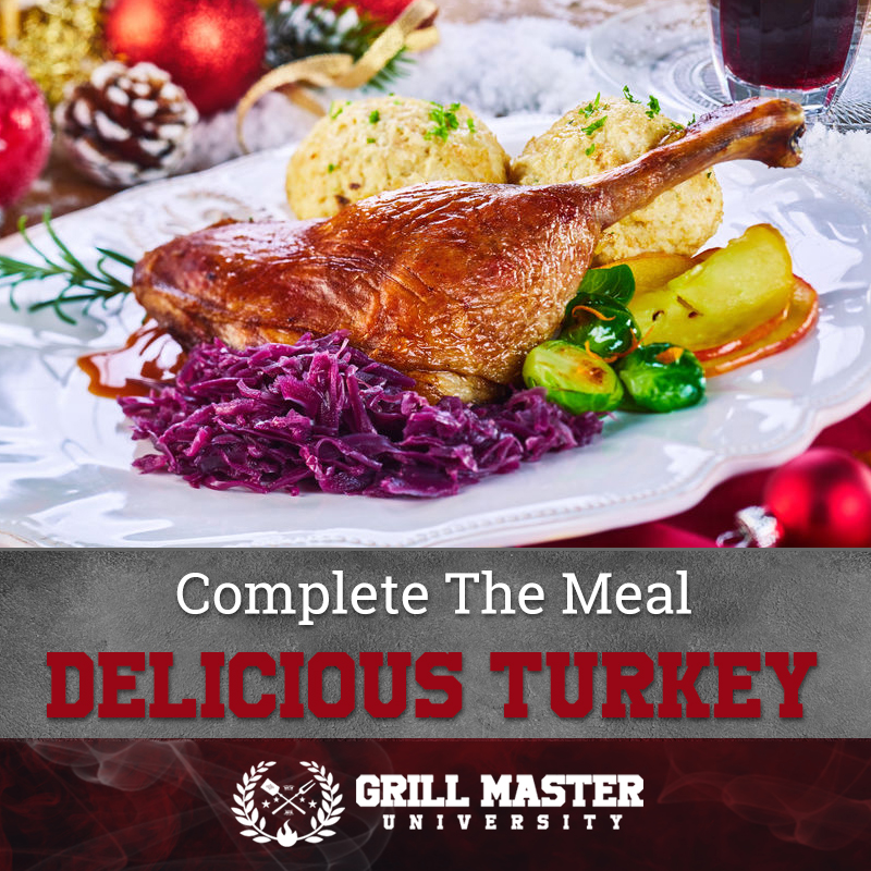 Complete The Meal Delicious Turkey