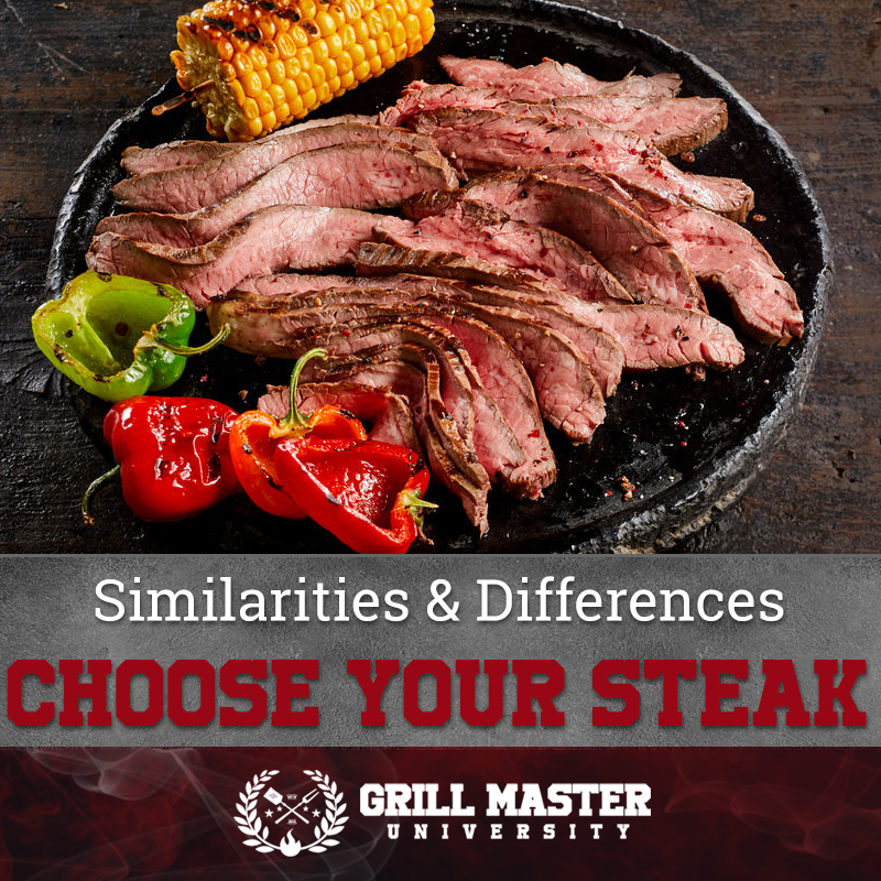 Similarities & Differences Choose Your Steak
