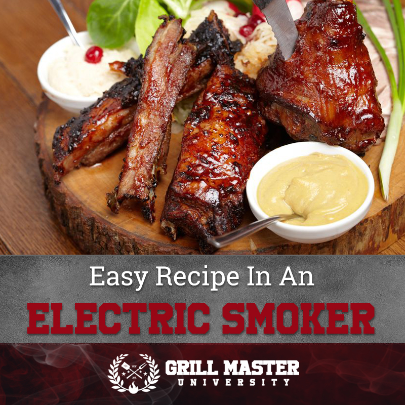 Easy recipes in an electric smoker