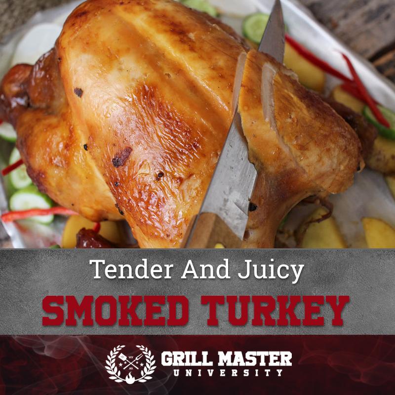 Tender And Juicy Smoked Turkey