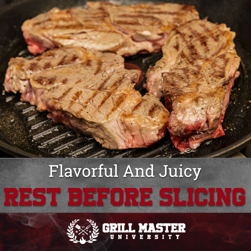 Flavorful And Juicy Rest Before Slicing