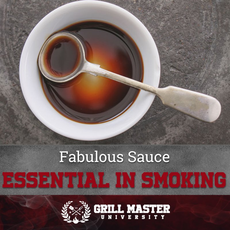 Fabulous Sauce Essential In Smoking