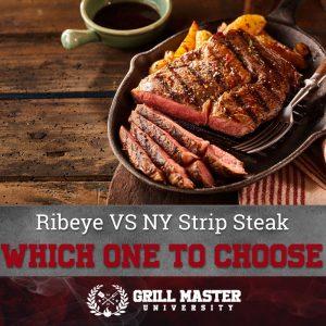Ribeye vs New York Strip steak