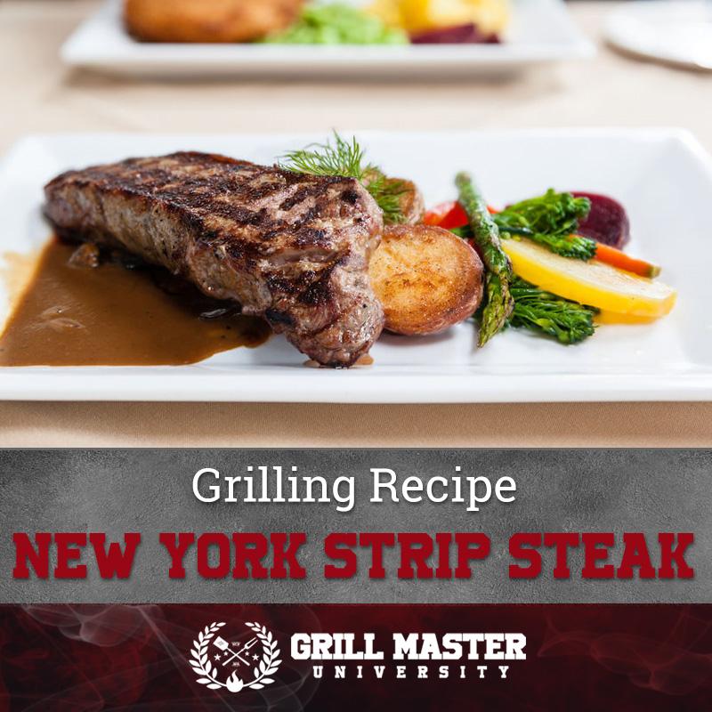 Grilled New York Strip Steak