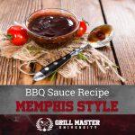 Memphis BBQ Sauce Recipe