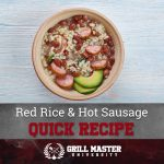 Red Rice and Hot Sausage