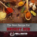 Smoked Brisket Rub Recipe