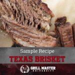 Texas Brisket Recipe