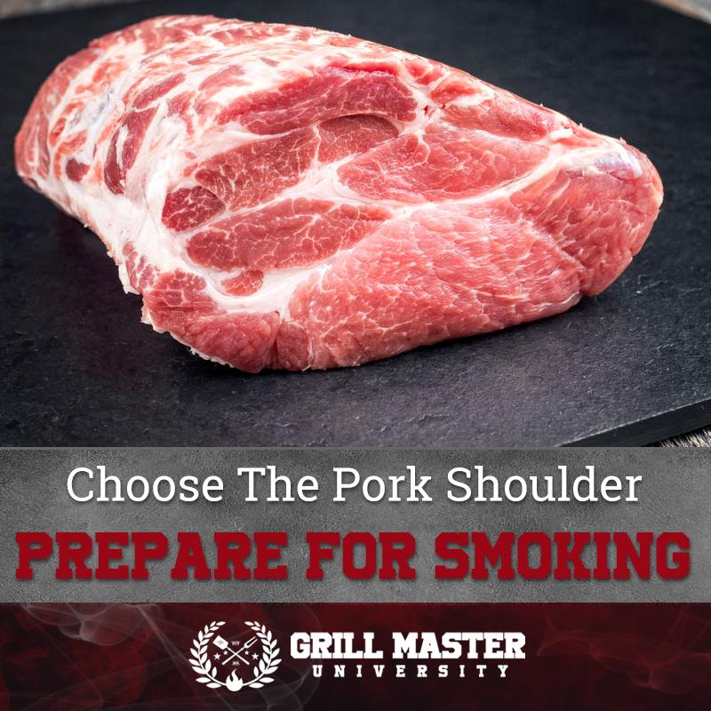 Choose the pork shoulder