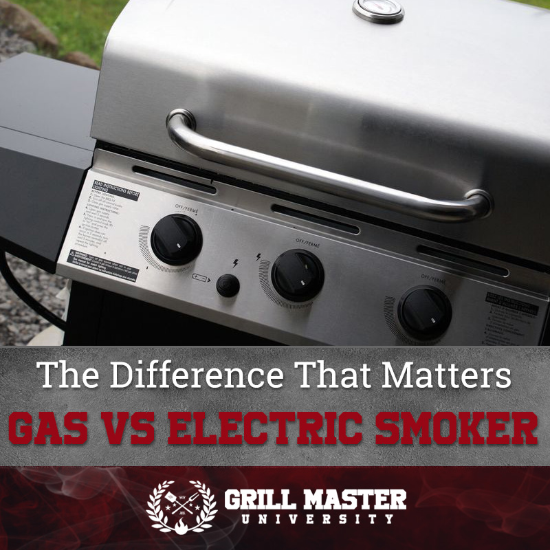Gas vs electric smoker