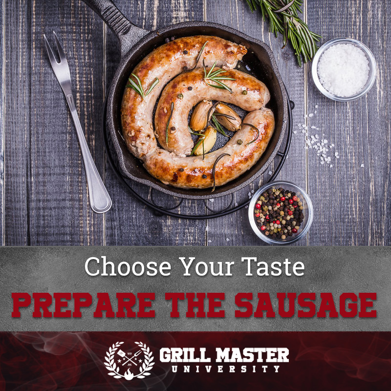 How to cook sausage