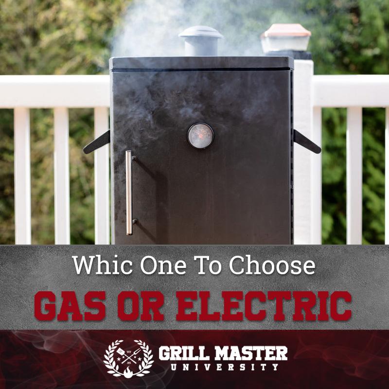 Gas or electric smoker