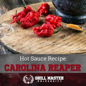Carolina Reaper sauce