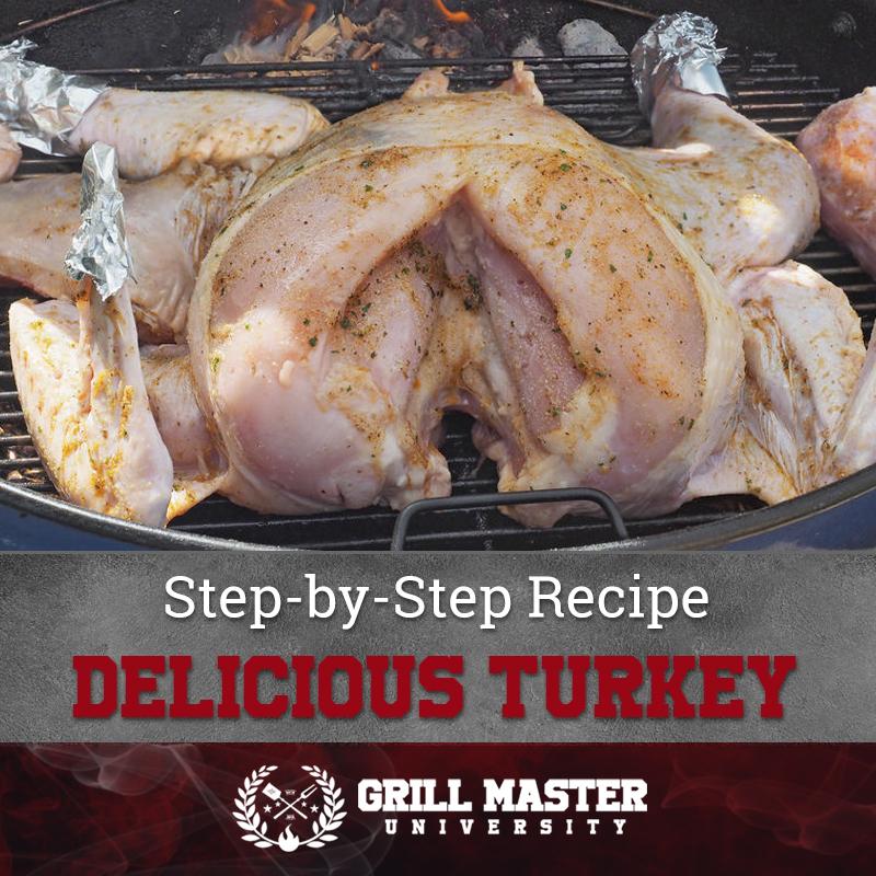 Delicious Smoked Turkey